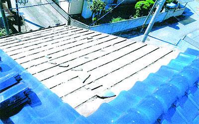 施工事例|屋根ビス追加工事3