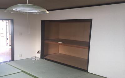 施工事例 和室から洋室に変更工事2