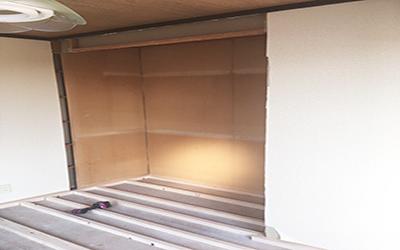 施工事例 和室から洋室に変更工事4