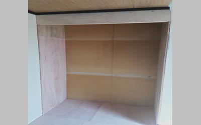 施工事例 和室から洋室に変更工事5
